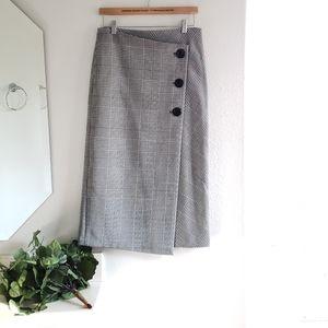 Zara Woman Black White Skirt Size Small